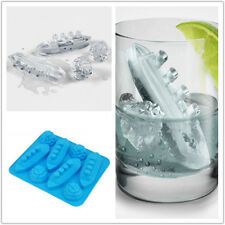 Ice Cube Trays Silicone Shaped Carving Mold Mould Maker Titanic For Party Drinks