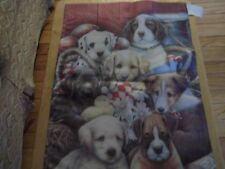 Dogs, Puppies Mini Garden Flag 13X18.5 inches