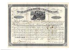 Cincinnati Hamilton & Dayton Railroad Company  1883