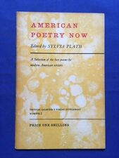 AMERICAN POETRY NOW - EDITED BY SYLVIA PLATH