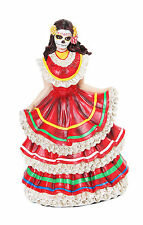 Day Of The Dead Dancer Dia de Los Muertos Skull DOD Catrina Saints Halloween