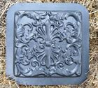 abs plastic tuscan stepping stone mold mould #2 with diamond point center