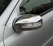 MERCEDES C CLASS W203 SALOON OR ESTATE CHROME MIRROR COVERS
