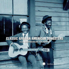 Classic African American Songsters-Smithsonian Folkways CD (2014) New - REDUCED!