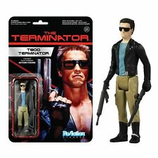 Schwarzenegger Terminator T-800 Leather Jacket 3-3/4 Retro FUNKO ReAction Figure