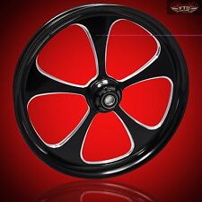 "Hayabusa, GSXR,  360mm Wide Tire Wheel set ""5-Blade""  Lifetime Warranty"