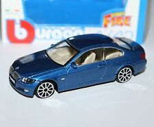 Burago - BMW 335i (Blue) - 'Street Fire' Model Scale 1:43
