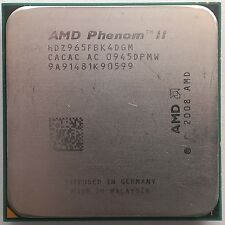 AMD Phenom II x4 965 Black Edition Deneb quad-core 4x 3.4 GHz zócalo am3
