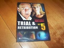 TRIAL & RETRIBUTION SET 5 2 DVD British BBC Crime Series DVDs Set NEW & SEALED