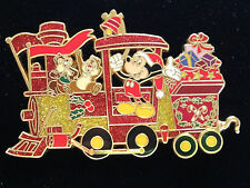 Disney DisneyShopping.com - 2007 Holiday Train Mickey & Chip 'n' Dale Pin LE 100