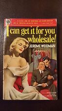 "Jerome Weidman, ""I Can Get it For You Wholesale,"" 1949, Avon226, VG, 1st"