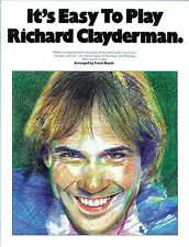 Its Easy To Play Richard Clayderman Learn Beginner Pop Piano Music Book 1