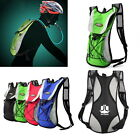 Water Bladder Bag Backpack Hydration Packs Pack Hiking Camping 2L O#