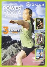 RODNEY YEE :POWER YOGA COLLECTION : 3 WORKOUTS - DVD - UK Compatible