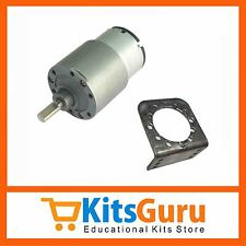 High Torque Motor 12V 60 RPM (Side Shaft) KG154