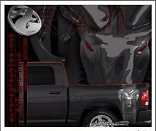 Dodge Ram truck bed band vinyl graphic striping set