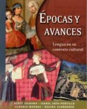 Epocas y Avances: Lengua en su contexto cultural with Audio CD)