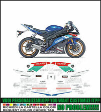 kit adesivi stickers compatibili yzf r6 2009 cup crutchlow