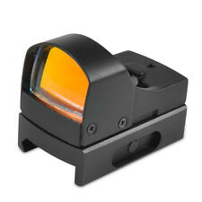 Mini Compact Holographic Reflex Micro Red Dot Sight Scope Brightness Adjustable