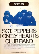 Shinko Music BEATLES SGT PEPPER'S LONELY HEARTS (1972) songbook JAPANESE IMPORT