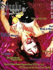 Rare SPOOKY Magazine #1 July 2004 DINAH CANCER 45 Grave GOTH PUNK DEATHROCK @NEW