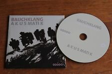 Bauchklang Vocal Groove Project ‎/ Europe PromoCD / Akusmatik  2012
