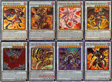 Yugioh Red Dragon Archfiend Deck - Scarlight Tyrant Majestic Hot King Calamity