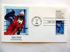 """January 6th, 1994 """"Alpine Skiing"""" First Day Cover"""