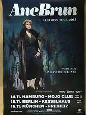 ANE BRUN 2015 TOUR - orig.Concert Poster -- Konzert Plakat  A1 NEU