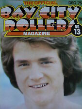 THE OFFICIAL BAY CITY ROLLERS MAGAZINE - NO 13 DEC 1975