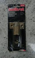 Kwikset Adjustable Replacement Deadlatch  /  No. 2955 / Brass