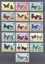 BELIZE 1974, Butterflies, set of 16 Wmk 314 MHN** (Mi.330-45 €70,00) (1)