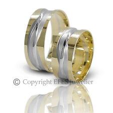 2 Trauringe - Eheringe aus  14kt / 585 Gold inkl. Gravur. ++ Sofort Lieferbar ++