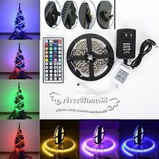 5M 3528 RGB SMD IP20 300LEDsLed Flexible Strip Light+44Key Remote+Power Supply