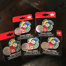 World Baseball Classic 2009 TEAM CANADA  Pin- BN ON BACKING-OFFICIALLY LICENSED