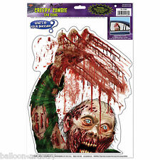 Halloween Horror Party ZOMBIE Monster Car Window Cling Sticker Decoration
