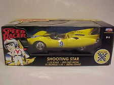 Speed Racer Shooting Star Racer X Die-cast Car 1:18 ERTL 10 inch Yellow