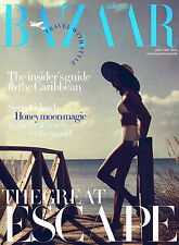 UK Harper's Bazaar TRAVEL GUIDE 2016 EMMA TEMPTEST Sara Sampaio CARIBBEAN @New@