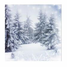 10X10FT Vinyl Christmas Snow Forest Studio Background Photography Backdrop Prop