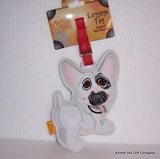LITTLE PAWS Luggage Tag - English Bull Terrier