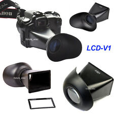 LCD-V1 2.8x Viewfinder Extend Eye Cup for Canon 5D II 5D2 5DII 7D 500D Rebel T1i