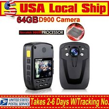 "USA 2.0"" Digital LCD Display Shoulder Police Wearable Video Camera Night Vision"