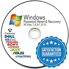 *FIVE STAR* Password-Reset-Recovery-CD-for-Microsoft-Windows-8-7-Vista