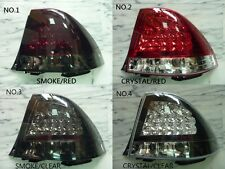 LEXUS IS200 IS300 1998-2005 LED TAIL LAMPS 4 TYPE CRYSTAL/SMOKE/RED/CLEAR