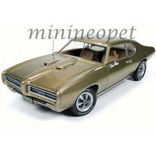 AUTOWORLD AMM1081 HEMMINGS MAGAZINE 1969 69 PONTIAC GTO 1/18 DIECAST CAR GOLD