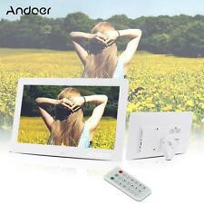 "10.1"" HD High Resolution Digital Photo Frame Alarm Clock MP3 MP4 Movie Player"