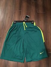 Nike Men's Monster Mesh Training Shorts Green Small 613597 346 New With Tags