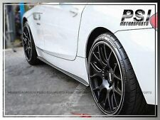 3D Style Carbon Fiber Side Skirts Add On Extension Lip for BMW 2009+ E89 Z4