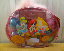 DISNEY PRINCESS ~ EASTER ACTIVITY TOTE ~ Cinderella Sleeping Beauty Ariel ~ NEW