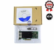 New Intel chipset X540 T2 10G Dual RJ45 Ports PCI-E Ethernet Network Adapter
